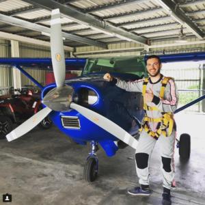 expérience parachute entrepreneur nomade